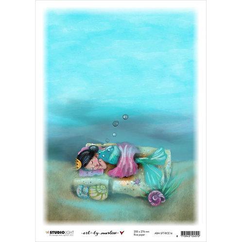 Deep Sleep A4 Rice Paper