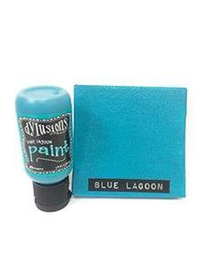Blue Lagoon Dylusions Paint