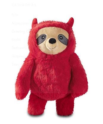 Devilish Sloth Dog Squeaky Plush Toy