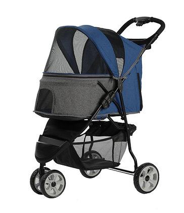Petty Man Stroller 879 (Suitable for Small/Medium Breed Dogs/Cats)
