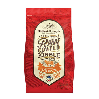 Stella & Chewy's Raw Coated Kibble - Beef