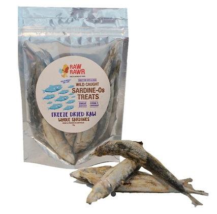 Raw Rawr Freeze Dried Whole Sardines (70g)