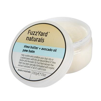 Fuzzyard Naturals Shea Butter + Avocado Oil Paw Balm (100g)