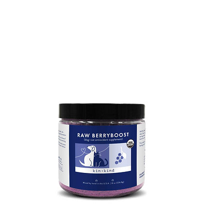 kin + kind Raw Berryboost (UTI Support Supplement for Dogs and Cats)