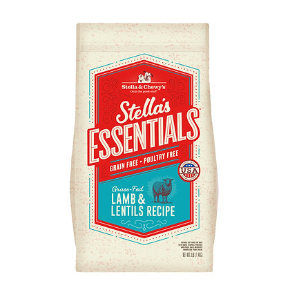 Stella's Essentials Grain-Free Grass-Fed Lamb & Lentils Recipe
