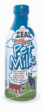 Zeal Lactose-Free Pet Milk (For Cats & Dogs)