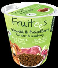 Bosch Finest Snack - Fruitees Roe Deer & Cranberry Dog Treats (200g)