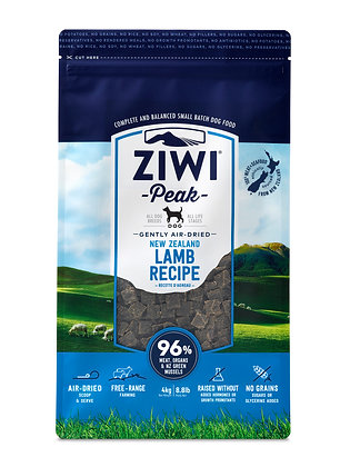 Ziwi Peak Air-dried Dog Food 4kg (Choose from 4 recipes)