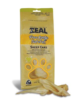 Zeal Free Range Naturals Sheep Ears (125g)