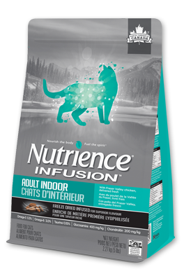 Nutrience Infusion Healthy Adult Indoor Dry Dog Food 5kg