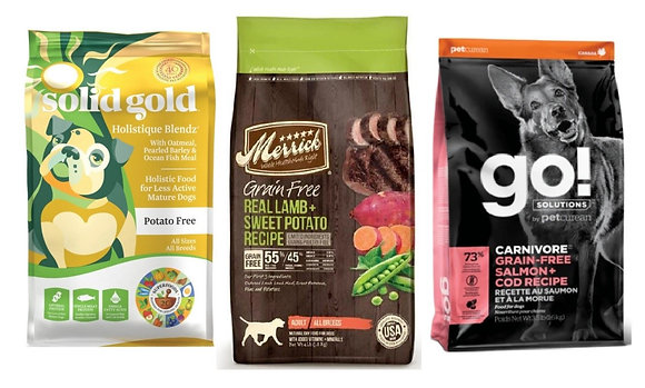 Donate to Joyous Bark: Various Brands of Dry Dog Food (22-28lb)