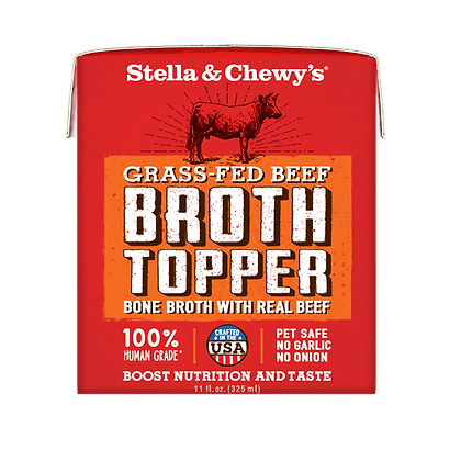Stella & Chewy's Broth Topper - Grass-Fed Beef 11oz