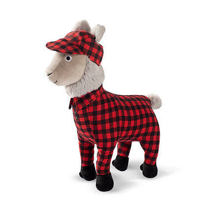 PJ The Pjama Llama, Dog Squeaky Plush Toy