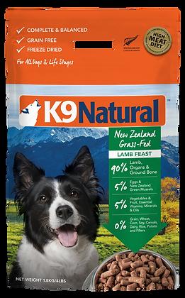 K9 Natural Freeze Dried Lamb Dry Dog Food