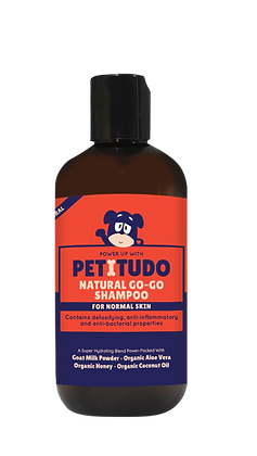 Petitudo Natural Go-Go Dog Shampoo (For Normal Skin) 250g
