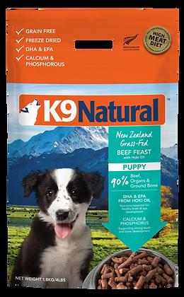 K9 Natural Freeze Dried Puppy Beef & Hoki Dry Dog Food (1.8kg)