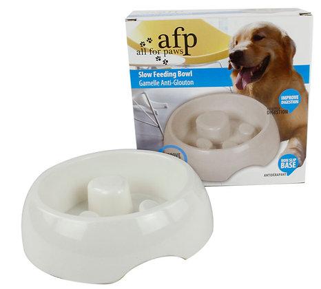 All For Paws Melamine Slow Feeding Bowl