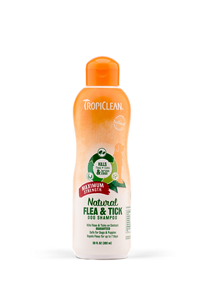 Natural Flea & Tick Shampoo (Maximum Strength)