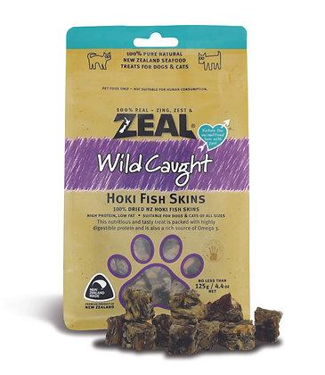 Zeal Wild Caught Hoki Fish Skins (125g)