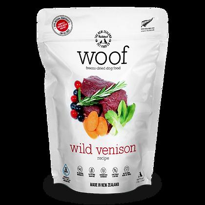 Woof Freeze Dried Raw Dog Food (Wild Venison)