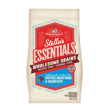 Stella's Essentials Wild-Caught Whitefish, Ancient Grains & Salmon Recipe