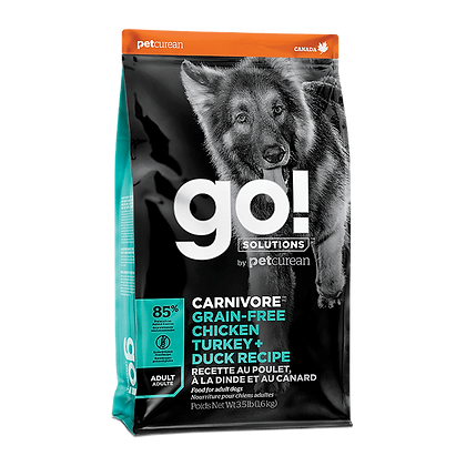 Go! Solutions Carnivore (Grain-Free Adult) Dry Dog Food - 3.5lb