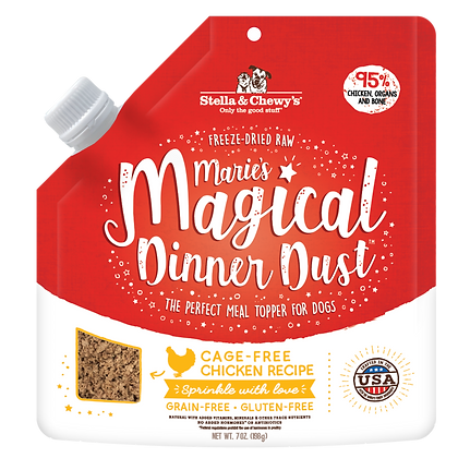 Stella & Chewy's Marie's Magical Dinner Dust (Cage-Free Chicken) Dog Food - 7oz