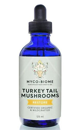 Adored Beast (Myco-Biome) Turkey Tail Mushrooms (125ml)
