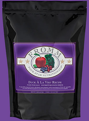 Donate to SOSD: Fromm Duck A La Veg Dry Dog Food (30lb)