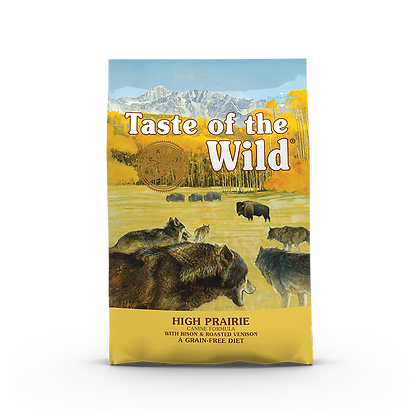 Taste of the Wild High Prairie Roasted Bison & Venison Dry Dog Food