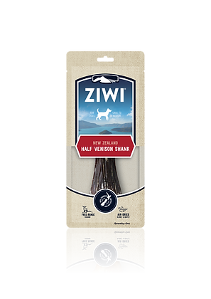 Ziwi Air-dried Dog Treats - Venison Shank (Half or Full)