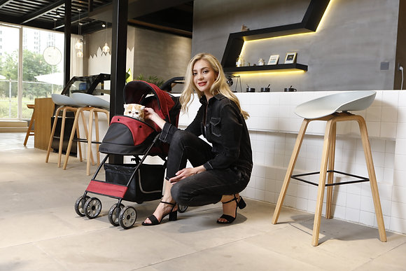 Petty Man Stroller 869 (Suitable for Small Breed Dogs/Cats)