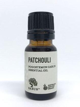 Sabun Patchouli Essential Oil - Organic (10ml)