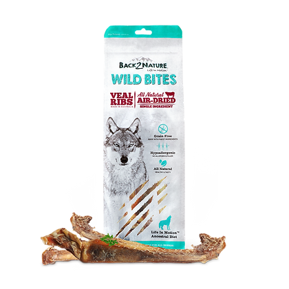 Back2Nature Wild Bites Veal Ribs (125g)