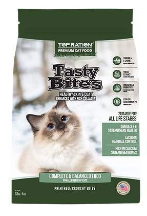 Top Ration Cat Tasty Bites (for All Life Stages)