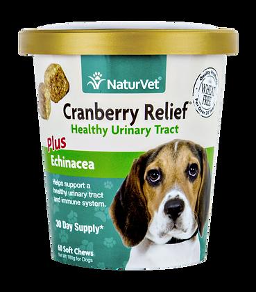 NaturVet Cranberry Relief® Plus Echinacea (60 Soft Chews)