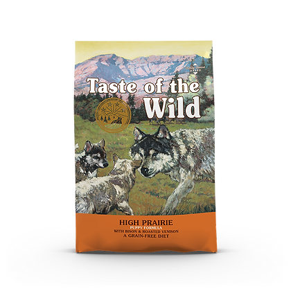 Taste of the Wild High Prairie (Puppy) Roasted Bison & Venison Dry Dog Food
