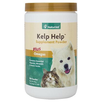 NaturVe Kelp Help™ Supplement Powder Plus Omegas (1lb)