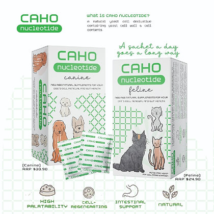 CAHO Nucleotide Supplement for Dogs & Cats