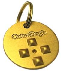 CatanDog's Anti Flea & Tick Metal Tag