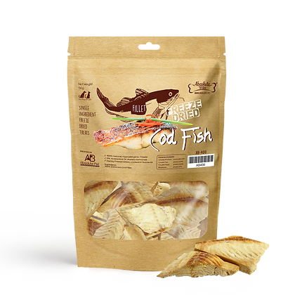 Absolute Bites Freeze Dried Cod Fish (30g)