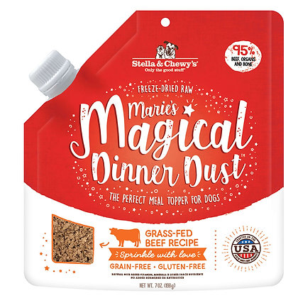 Stella & Chewy's Marie's Magical Dinner Dust (Grass-Fed Beef) Dog Food - 7oz