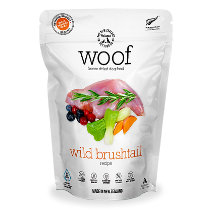Woof Freeze Dried Raw Dog Food (Wild Brushtail)