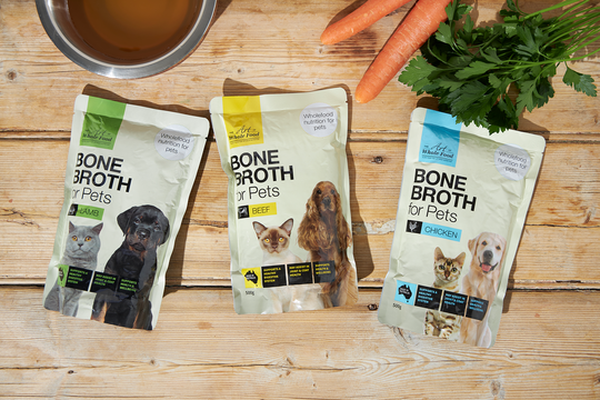 The Art of Whole Food Bone Broth for Pets