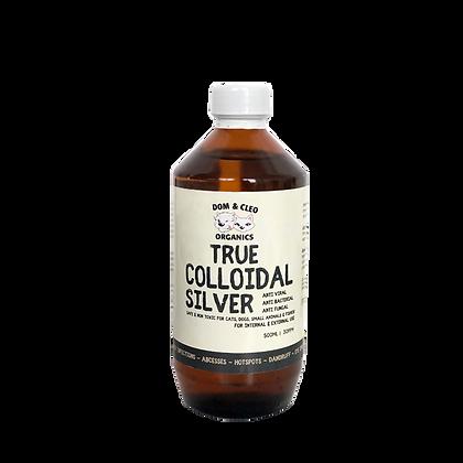 Dom & Cleo Organics True Colloidal Silver