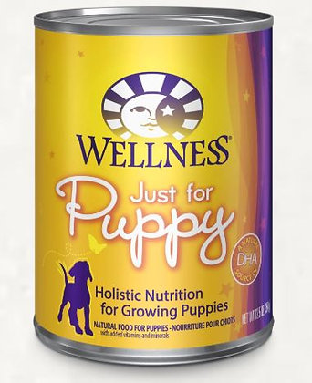 Wellness Complete Health Just For Puppy Wet Dog Food 12.5oz