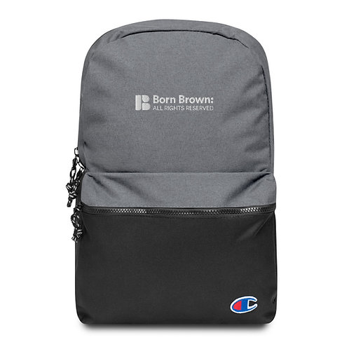 Signature Logo Embroidered Champion Backpack