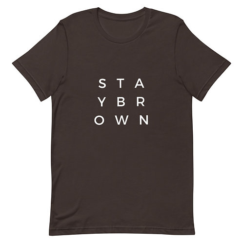 Stay Brown Short-Sleeve T-Shirt