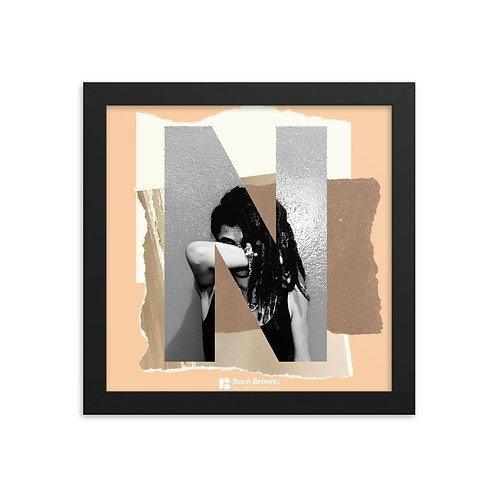 BORN BROWN (4 of 9) Framed Matte Poster
