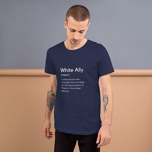 White Ally Short-Sleeve T-Shirt